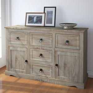 Commode bois naturel, style campagnard